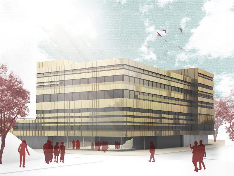 Campus Messestraße BT II – SFU, 1020 Wien