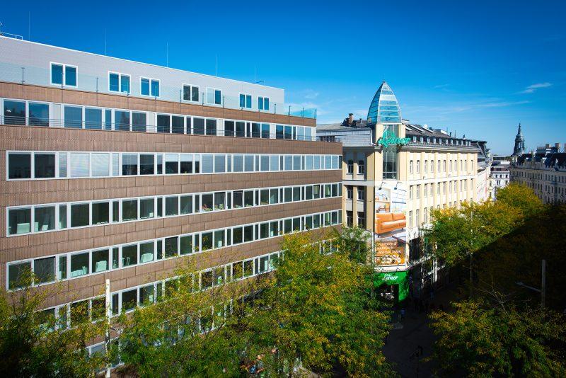 Thermische Sanierung Bürohaus, Mariahilfer Straße