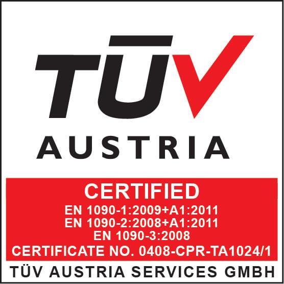 TUV Austria EN 1090-1 bis 3